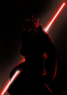 The Red of the Sith. George Lucas, develops the coolest villain since he created Darth Vader...kills him in first movie...