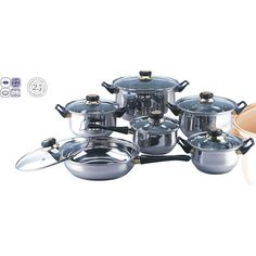 Blackstar 12-piece Stainless Steel Cookware Set - Overstock™ Shopping - Great Deals on Cookware Sets