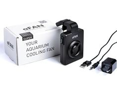 aFan PRO with built in Thermostat Aquarium Cooling Fan up to 100 Liters