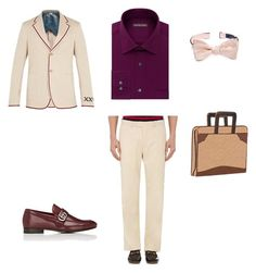 """3. Дионис"" by kerrigrand on Polyvore featuring Geoffrey Beene, The Tie Bar, Gucci, Scully, men's fashion и menswear"
