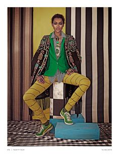 """Editorial Culture -- """"Africa And The City"""" Vanity Fair Italy April 2014"""