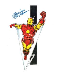 Iron Man by Ron Frenz Comic Art