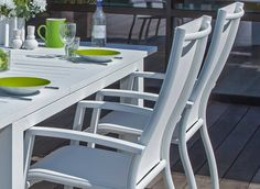Table de jardin Flo 180 x 240 cm, plateau HPL - Océo | Mobilier de ...
