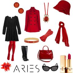 aries in red, created by cayla-dy