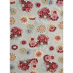 Peony Cream Floral Rug (7'6 x 9'6)