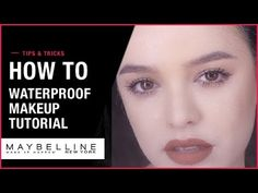 Watch apply long lasting makeup and put all the waterproof makeup to the test! Social Channel, Long Lasting Makeup, Waterproof Makeup, Maybelline, York, Youtube, Instagram, Products, Youtubers