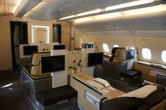 Lufthansa First Class - Airbus A380