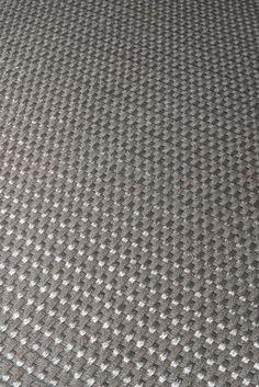 Handwoven Kanaspi Weave rug in gray fique fiber and stainless-steel threads #FiberRug #MetalRug #Fique #Handwoven #Handmade Woven Rug, Weave, Hand Weaving, Fiber, Stainless Steel, Gray, Rugs, Metal, Handmade