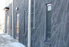 Pattern: Grass nega. Matinniitynkuja 2, Espoo, Finland 2010 (housing). Architecture by Arkkitehtitoimisto Hedman & Matomäki Oy, prefabrication by Lemminkäinen Rakennustuotteet Oy.
