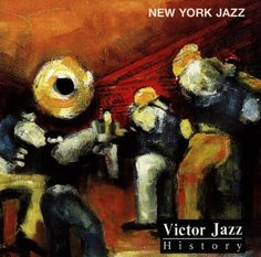 1996 Victor Jazz History Vol.4: New York Jazz [RCA 74321285582] cover painting by Alice Choné #albumcover