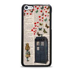 disney wonderland iPhone 5c case