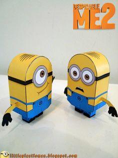 [despicable me universe] minion v7 toy