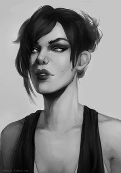 """merhelv: """" did a repaint of this old thing from about a year ago and i'm quite happy with my progress :^) """""""
