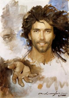 Jesus the Saviour! This image depicts that He is always here for us Catholic Art, Religious Art, Roman Catholic, Pictures Of Christ, Our Father In Heaven, Christian Artwork, Jesus Face, The Cross Of Christ, In Christ Alone