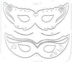 Resultado de imagem para mascaras de princesa em feltro