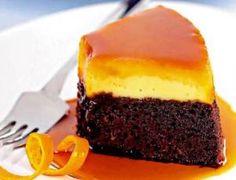 Bolo Pudim de Chocolate e Laranja - Receitas e Dicas Rápidas