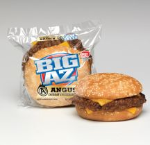 AdvancePierre Foods (APF) is introducing the BIG AZ Angus Cheddar Cheeseburger and BIG AZ Chicken Bacon Cheddar Club to its BIG AZ line