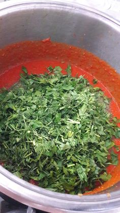 Seaweed Salad, How To Dry Basil, Spinach, Food And Drink, Herbs, Vegetables, Ethnic Recipes, Soups, Cooking