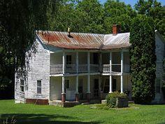 Vanishing Eastern Kentucky: Abandoned Farm House, KY Rt. 172, Morgan County
