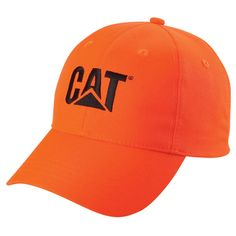 f15eeac77b6 Caterpillar Merchandise - CAT Hats - CAT Caps - Caterpillar CAT Blaze  Hunter Orange Caps