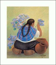 ALGUIEN SABE DONDE ESTA EL POST DE LOS DIBUJOS DE MILLONES??   Aprender manualidades es facilisimo.com Mexican Artists, Mexican Folk Art, Modern Indian Art, Peruvian Art, Desert Art, Diego Rivera, Naive Art, Pictures To Paint, African Art