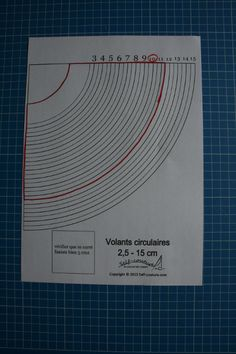 patron volant cercle Sewing Hacks, Sewing Projects, Sewing Tips, Techniques Couture, Techno, Wax, Images, Patterns, Sewing Patterns