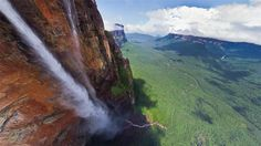 Angel Falls, #Venezuela - the tallest uninterrupted waterfall in the world