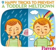 A toddler in the midst of a fit may send you into one too. With a few coping strategies, you can head off two tantrums at once: yours and your child's.