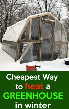 Cheapest Way To Heat A Greenhouse. How to Heat a Greenhouse in Winter for Free, Heating a greenhouse is expensive, these simple steps to heat your greenhouse. Greenhouse Farming, Diy Greenhouse Plans, Simple Greenhouse, Heating A Greenhouse, Outdoor Greenhouse, Winter Greenhouse, Backyard Greenhouse, Greenhouse Growing, Mini Greenhouse