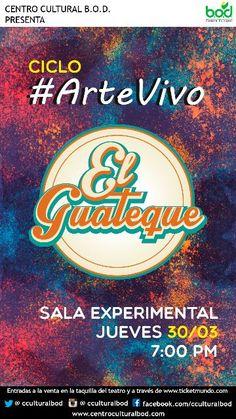 """Ciclo Arte Vivo presenta a """"El Guateque"""" en el Centro Cultural BOD http://crestametalica.com/evento/ciclo-arte-vivo-presenta-a-el-guateque-en-el-centro-cultural-bod/ vía @crestametalica"""