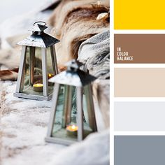 In Color Balance ( Beige Color Palette, Color Beige, Colour Pallete, Color Palettes, Silver Color, House Color Schemes, Colour Schemes, House Colors, Color Combos