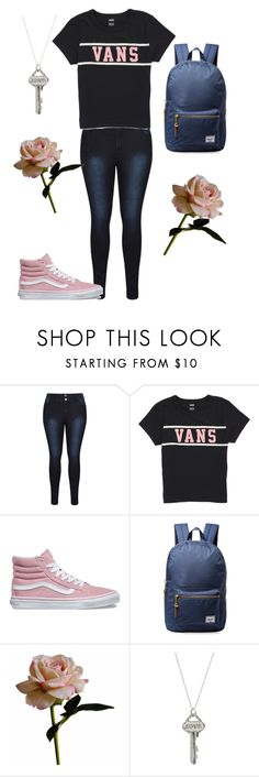 """""""Evening Memories"""" by itwasthepizza on Polyvore featuring Vans, Herschel Supply Co., Abigail Ahern, casual, vans, jeans and roses"""