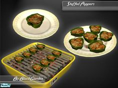 BlackGarden's Stuffed Peppers
