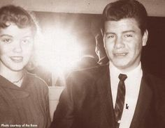 Ritchie Valens and gf Donna Ludwig