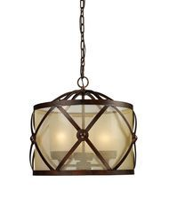 ELK Lighting 14051-3 Cumberland 19 Inch Chandelier