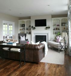 Beautiful Leather Couch Living Room Ideas Collection