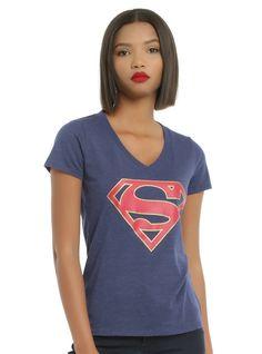 8533e615d DC Comics Superman Logo Girls T-Shirt