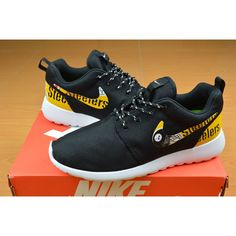 New Release Nike Roshe Run Pittsburgh Steelers Shoes