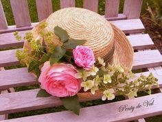 #Penty_de_Val #Jardin #Hortensia #Hydrangea #Rose #Chapeau