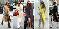 styl victorii becham płaszcze Ikon, Victoria Beckham, Duster Coat, Kimono Top, Jackets, Tops, Women, Fashion, Down Jackets