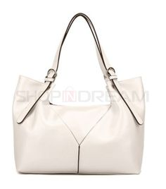 PU Geometry Shoulder Bag More Colors Available $89.99