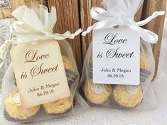 Personalized Wedding Favors, Personalized Wedding Favor Bags, Organza Bags and Tags - 78 Best Wedding Favors of 2020 - Forever Wedding Favors Sweet Wedding Favors, Summer Wedding Favors, Creative Wedding Favors, Inexpensive Wedding Favors, Edible Wedding Favors, Wedding Favor Bags, Personalized Wedding Favors, Personalized Tags, Wedding Gifts