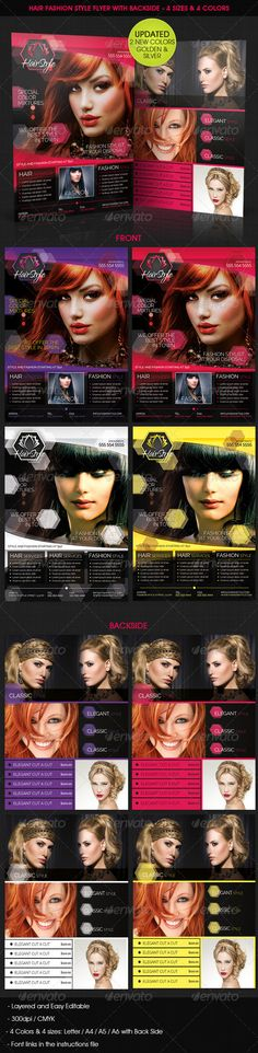 1000 Images About Flyer On Pinterest Flyers Hair Salons And Salons