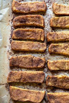 Cinnamon Sugar French Toast Sticks | halfbakedharvest.com @frenchtoast #easyrecipes #breakfast #cinnamonsugar