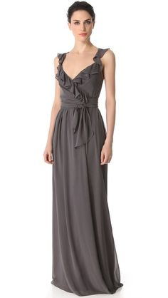 Joanna August Lacey Ruffle Dress (a little too dark but i really like it)