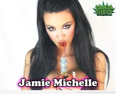 Jamie Michelle - via http://budquestions.com/htgb/weed-chicks-are-hot
