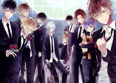 7 Reverse Harem Anime Like Brothers Conflict – 9 Tailed Kitsune Anime D, Anime Guys, Diabolik Lovers Season 3, Wattpad, Mukami Brothers, Diabolik Lovers Wallpaper, Brothers Conflict, Ayato, Weird Creatures