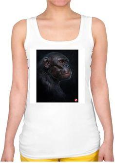 Evrim Ağacı - Primate Anatomy - Kendin Tasarla - Bayan Kare Yaka Atlet