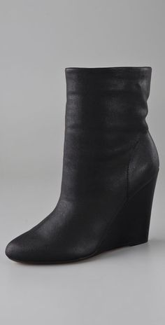 KORS Michael Kors Vena Wedge Booties