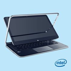 Get up close and personal with the Dell XPS 12 convertible. #Dell #Ultrabook #Intel